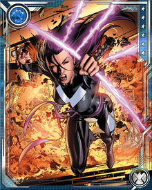 As a member of X-Force, Psylocke has faced quite a number of formidable adversaries, including Apocalypse, the Reavers, the Brotherhood and her nemesis, the Shadow King.