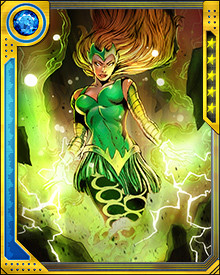 There is a second Enchantress now, formerly Sylvie Lushton of Broxton, Oklahoma. She looks like the original, but her powers are bestowed by Loki. Amora herself may or may not know of Sylvie's existence. If she does, she will certainly do something about it when the time suits her, because Amora the Enchantress cannot permit any rivals to exist.