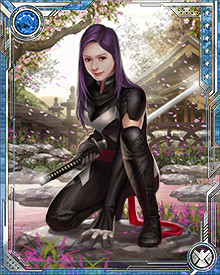 Psylocke has always been a dangerous combatant, but recent developments in her psionic abilities now make her even more powerful. She instinctively knows what opponents will do milliseconds before an action happens, which makes for devastating counterattacks.
