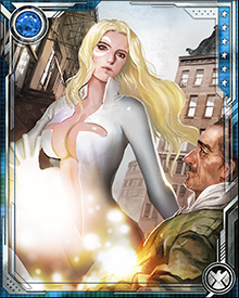 Unlike her partner Cloak, Dagger actually enjoys adventuring and has a knack for getting into trouble. She has been known to join forces with heroes such as Spider-Man, the X-Men, the Runaways, and the New Warriors among others.