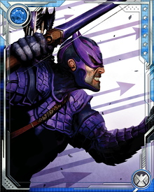 In the guise of Ronin, Hawkeye took the lead in trying to expose Osborn for what he was—a murderous demagogue—and in return, he went straight to the top of Osborn's kill list.