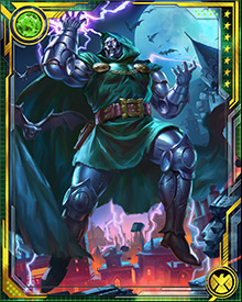 So great is Dr. Doom's mastery of the mystic arts, he was once considered a potential replacement for Dr. Strange as the Sorcerer Supreme of our world. There is no telling what havoc Doom might have wrought if he possessed such power.