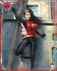 During the battle against the Inheritors, Spider-Woman played a critical role. A double of her was the lover of the Inheritors' leader Morlun; Spider-Woman replaced the double and gathered crucial intelligence about Loomworld and the Inheritors' plans.