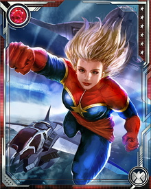Carol Danvers' role as the new Captain Marvel continues the legacy of previous bearers of that name. Her Kree energies make her a target for interstellar enemies seeking to harness those energies—or destroy her for possessing them. She also is driven by memories of Mar-Vell's sacrifice, which saved the planet Hala from the Phoenix Force.