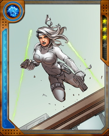 One of the Wild Pack's ongoing goals is hunting down Nazi war criminals and their associates. This brings them into frequent conflict with Hydra. In contrast, Silver Sable maintains a cordial working relationship with Doctor Doom. At times this makes her the target of suspicion from Doom's enemies, but her only concern is the Wild Pack's missions.
