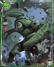 As part of Doc Ock's final gathering of the Sinister Six, Scorpion took on the Avengers in a Mediterranean showdown and later defeated Titanium Man in single combat. After Doc Ock's Octavian Lens was destroyed, the Sinister Six broke up and the Scorpion went out on his own again.