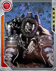 Blastaar once ruled the Baluurians, a race native to the Negative Zone. They rose up and overthrew his tyrannical regime, after which he became a Negative Zone outlaw. He has since fought wars against Annihilus for control of the Negative Zone, and also turned his sights on other parts of the universe... including Earth.