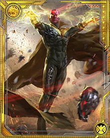The Vision can take control over machines, and in this case the machines he wants are Ultron's drone army. With them, he stands a chance of combating Stark and Ultron, and saving humanity from the menace of Extremis 3.0.