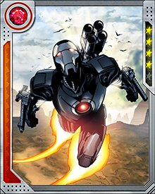 When Iron Man was adventuring in space as a new member of the Guardians of the Galaxy, James Rhodes stepped into some of the S.H.I.E.L.D. roles formerly occupied by Tony Stark. Not on the research front, but in combat, War Machine proved vital in the battle against a swarm of Iron Patriot clones. Rhodes then remade the War Machine armor with some technological tweaks from those clones, resulting in a more powerful S.H.I.E.L.D. resource.