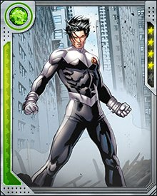In theory, Northstar is able to move at the speed of light, but he rarely goes this fast because there are unpredictable side effects. When you move that fast, you tend to displace a lot of things around you. He also wears a special costume that can resist the friction created. After all, you don't want to arrive at the battle naked.
