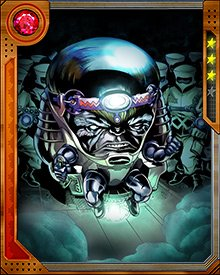 M.O.D.O.K. coordinated a series of doomsday plots to be executed if he was killed or incapacitated. He built an artificial intelligence array using a number of brains cloned from his own. One of them became detached from the array and incorporated M.O.D.O.K.'s memories into itself known as M.O.D.O.K. Superior.