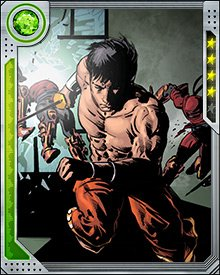 Shang-Chi has trained a number of heroes in the martial arts, including Killraven and Spider-Man. His knowledge of Wushu is unsurpassed, and makes him a powerful ally despite his lack of traditional superpowers.