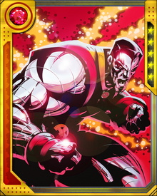 As the Avatar of Cyttorak, Colossus was granted additional superhuman strength and invulnerability, as well as other mystical powers. One of these powers was the ability to ignore impediments to his movement, making him... unstoppable,