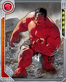 Red Hulk is driven by hate. He fights for his country because he hates its enemies. But there's nobody Thunderbolt Ross hates more than himself, for becoming a version of the Hulk he so despises.