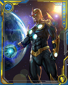 Richard Rider, as Nova, was instrumental in founding the teenage super team the New Warriors. The  was an attempt by the kids to have their own group. Witnessing teams like the Avengers and X-Men working together to defeat threats great and small inspired them to strive for greatness as well.