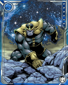 Thanos is known not just for his immense powers and his pathological love of Death, but for his utterly indomitable will. Once he decides on an objective, he will turn the universe inside out to achieve it.