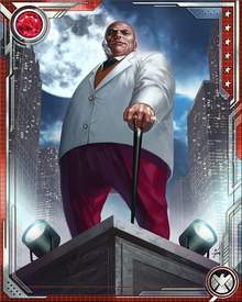 The Kingpin runs virtually every criminal enterprise on the East Coast except for those controlled by the Maggia, his underworld rivals. He has been involved with the Hand and HYDRA, but prefers to run his own gangs.