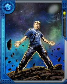 Franklin Benjamin Richards is the son of Reed Richards and Sue Storm of the Fantastic Four.