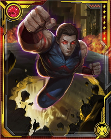 After initially refusing to rejoin the Avengers, Wonder Man was persuaded to come back following his rescue of Wasp from the Microverse. He is still reluctant to use his powers in a direct combat role, however, preferring instead to put his fame to work as a spokesman for the Avengers and the good they do. His powers seem to be back under his full control as his mental state has stabilized and he has atoned for his past actions.