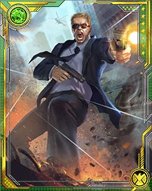 After leaving his cover identity, Agent Coulson led S.H.I.E.L.D. operatives on a number of missions alongside Thor and members of the Secret Avengers.