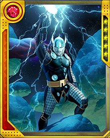During the investigation into the murder of Uatu the Watcher, Thor learned of a Tenth Realm known as Heven, and also that he had a sister, Angela. She had grown up among the angels of the Tenth Realm, and bore a bitter grudge against Asgard because she felt she had been abandoned.