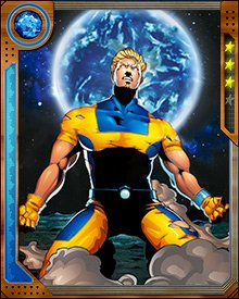 Calvin Rankin gained the power to mimic abilities of those near him after a chemical accident in his father's laboratory. Although not a mutant, he was the first person after the original five X-Men to join the team, forcing his way in by blackmailing them.