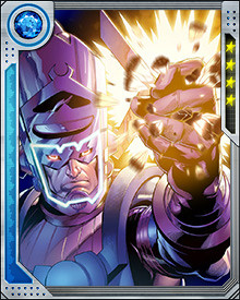 The heroes of Earth have thwarted his every attempt, but in the far flung future when humanity no longer inhabits the Earth, Galactus has returned to claim the elusive prize. But one immortal Avenger returns to defend Earth one last time. Thor, now ruler of Asgard, confronts Galactus one final time.