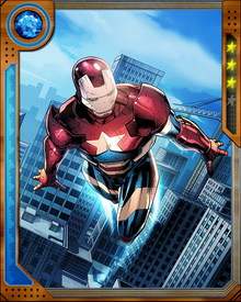 Originally, the Iron Patriot was a persona created by the villainous Norman Osborn, who combined the symbolism of Captain America and the armor of Iron Man into one heroic entity that he used to deceive the American people.
