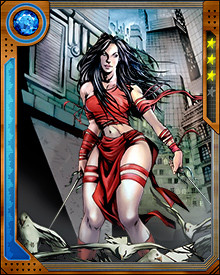 Elektra is a pitiless opponent partially because she has lost so much in her life that she has become twisted and wants others to suffer as she has. On the rare occasions when she can surmount this wounded spite, she demonstrates surprising compassion...but it doesn't last for long.