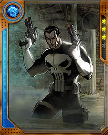 Punisher typically targets dangerous criminals in his quest for justice.