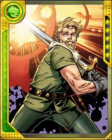 Perhaps as valuable a weapon as a sword, though, is Fandral's wit and charm. He can talk his way though many situations, and he has stolen more than a few hearts.