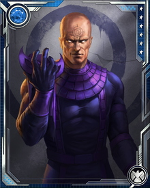 I told Ozzy I'd do the Hawkeye thing, but only if he redid the suit so it wasn't all purple. I mean, I might be a sociopathic killer... hell, nobody would argue that... but that doesn't mean I have to wear purple all the time.