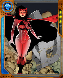 Scarlet Witch began her career on the side of the villains. She was a founding member of Magneto's Brotherhood of Evil Mutants. She left that group to become part of the earliest incarnation of the Avengers team, as a hero instead.
