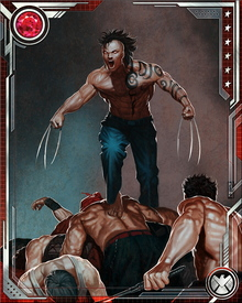 Daken hates his own father, Wolverine. Hates him for letting his mother die. Logan views Daken with mixed feelings, unwilling to take his son's life even while recognizing the danger of leaving him alive.