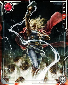 Thor died in the aftermath of his battle with Cul the Serpent, and was reborn with the aid of Loki and the Silver Surfer. He fought with the Avengers during the return of the Phoenix Force and is now a core member of the Uncanny Avengers team.