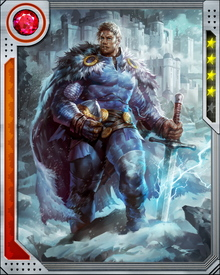 Half-brother to Thor, Balder the Brave ruled Asgard in Thor's stead after Loki engineered Thor's exile. During the Siege of Asgard, Balder notably refused to fall victim to Loki's lies.