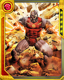 In one potential future, Deathloks overran the world, capturing all known superheroes and turning them into Deathlok cyborgs.