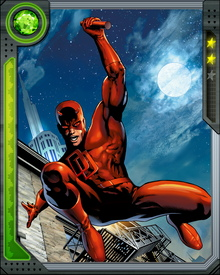 Matt Murdock fights crime under the law by day as a lawyer, and fights crime outside the law by night as Daredevil.
