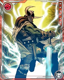 Heimdall's infinite vision reveals to him the true nature of Osborn's treachery. He was able to convince Ares of the truth of his vision when Ares battled him and Balder, causing Ares to switch sides and vow to kill Osborn.
