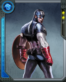 Patriotic Steve Rogers agreed to become the recipient of the Super-Soldier Serum. With his body and abilities pushed to peak-human perfection, Rogers became Captain America, the living symbol of freedom.