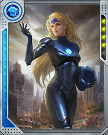 Laynia Petrovna was first an operative assigned to bring Black Widow back to Russia. She defected from the Soviet Union, later joined by her brother Nikolai—better known as Vanguard. Her sympathies for her native Russia are generally outweighed by the relationships she has made in the West, particularly an important early friendship with Iceman.