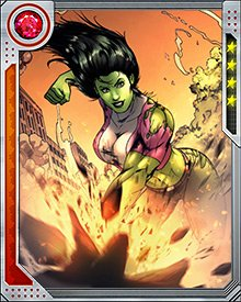 In addition to providing legal counsel, She-Hulk also takes part in field missions, which is just up her alley. Nothing like beating up on W.E.S.P.E. drones to blow off some courtroom steam.
