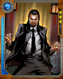 The Ten Rings are not the Mandarin's only source of power. After years of dedicated study, he is able to survive only on stored chi, and he has acquired superhuman fighting prowess that nearly matches his scientific genius.