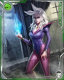 Clea, when she is with Doctor Strange, is the mistress of the Sanctum Sanctorum, and a powerful magical ally. She has fought her uncle Dormammu on a number of occasions, saving Strange's life.