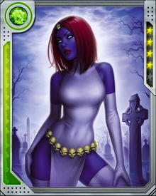 Mystique can psionically shift the formation of her biological cells at will to change her appearance and assume the form of others.  This manipulation is limited to appearances only and she can't assume the powers of others.