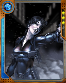 One of only two survivors of the Project Armageddon mutant-breeding program, Domino grew up to become a critical member of X-Force.