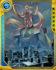 Loki is the most skilled magician in all of Asgard, if not all of the nine worlds. Through magic he is able to achieve a myriad of effects and powers such as supersonic flight, dimensional teleportation, intangibility and invisibility, energy blasts, energy manipulation, and illusion casting.