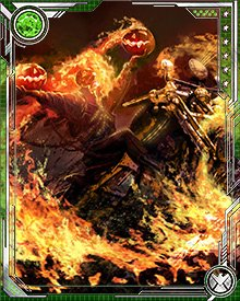 Let those who would harm others fear the flames of the Ghost Rider's vengeance!
