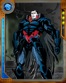 After Mr. Sinister was originally remade by Apocalypse, the two became enemies. Mr. Sinister created Cable intending to use him as a weapon against Apocalypse. In an alternate timeline where Apocalypse reigned supreme, one of Mr. Sinister's students was the sadistic Sugar Man.