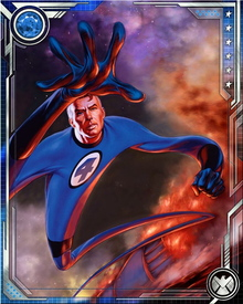 Because of the cosmic rays that effected Reed Richards and Sue Storm, their son Franklin was born with his mutant powers active at a young age instead of manifesting during his adolescence.